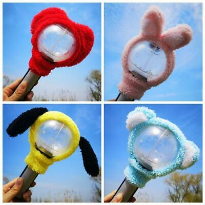 Kpop BTS Cute Army Bomb Headband Lightstick Plush Head Cover V Jimin Jungkook