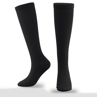 5354d834922 THIGH HIGH COMPRESSION Stockings 30-40 Beige Black ALL SIZES Open or ...