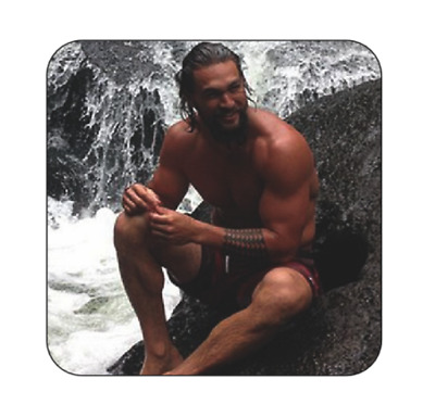 61f7da475 Personalised Jason Momoa Mug Coaster The Devil's Double drinks coasters