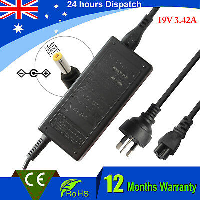 AC Adapter Laptop Charger Power for ASUS S300C S400C S500C F550L F550Z 19V 3.42A