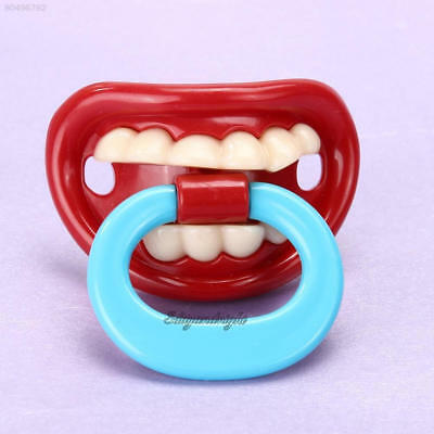 1AEB Safety Funny Baby Pacifier Dummy Nipple Teethers Toddler Pacy Orthodontic T