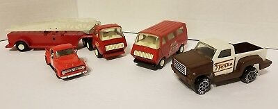 TONKA PRESSED STEEL TOYS COLLECTION. VINTAGE Lot of 4. Great Condition!