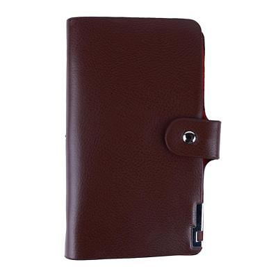 PU Leather Purse Men's Slim ID Credit Card Holder Pocket Case Cards Wallet JJ