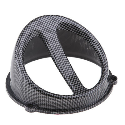 Carbon Fiber Air Scoop Fan Cover GY6 125cc 150cc Engine Motorcycle Scooter
