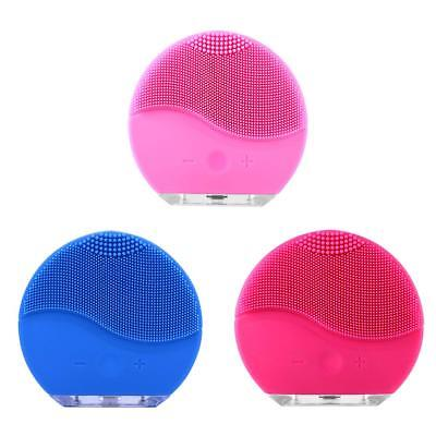 Silicone Electric Face Cleanser Cleaning Brush Face Pore Cleaner Skin Cleanser