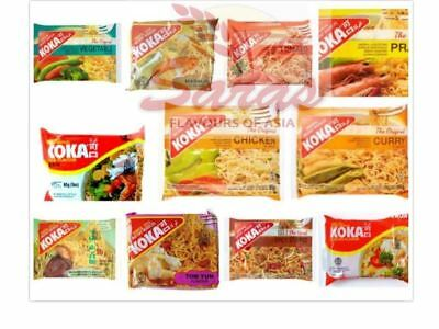 KOKA Oriental Noodles-All Flavours Multi Listing-(PACK OF 30)