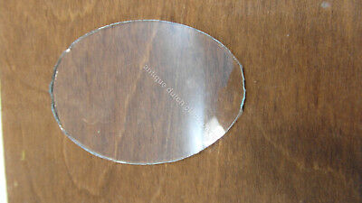 Dutch Zaandam Or Sallandse Clock Oval Glass Pane For The Tail Window
