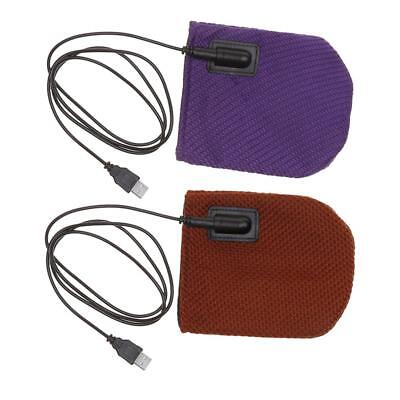 USB Electric Heater Pad Shoulder Foot Hand Body Heating Thermal Warmer