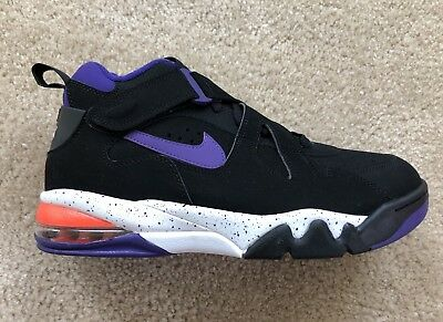 c3fa3ebebf8dd Nike Air Force Max CB Charles Barkley Suns Purple Shoes AJ7922-002 Size 10