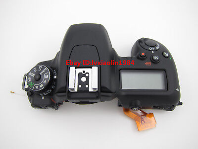 Repair Parts For Nikon D7500 Top Cover Shell Mode Dial Flash Board Screen Assy
