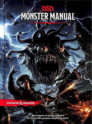 Dungeons and Dragons 5th ED: Monster Manual NEW