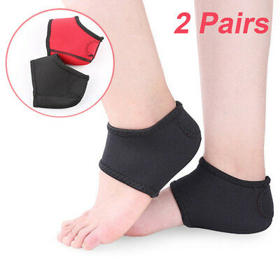 79a6e39f77 2 Pair Plantar Fasciitis Therapy Wrap Arch Support Relieve Heel Spur Pain  Sock