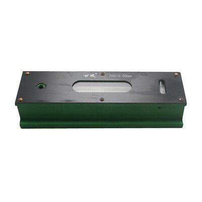 Precision Bar Level Tool with Case 0.02mm, High Accuracy, Sensitivity 200mm