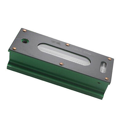 Precision Bar Level Tool with Case 0.02mm, High Accuracy, Sensitivity 100mm