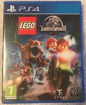 Lego Jurassic World - Sony Playstation 4 Ps4 Used Video Game Collector Vgc