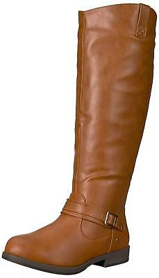 05ed6768aa88 BRINLEY CO WOMENS Regular and Wide Calf Faux Suede Ruche Over the ...