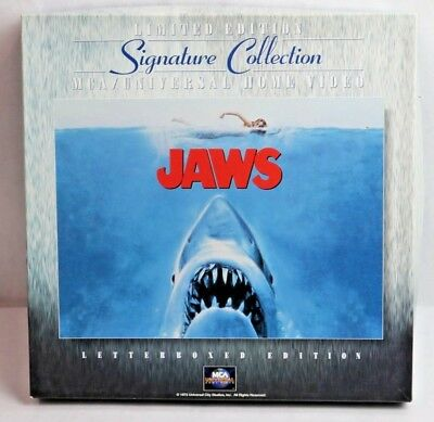 JAWS Signature Collection Laser Boxed Edition Laser Disc