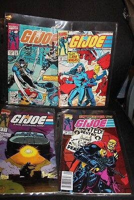 Marvel Gi Joe 8 Comic Book Lot 112 116 119 120 (4 comics) GiJoe VF-NM