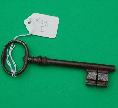 2806  Old Antique Vintage Victorian door lock Key ideal rustic display item gift