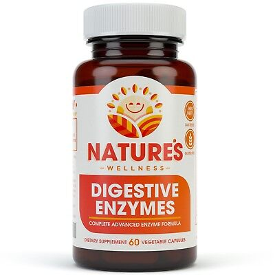 Digestive Enzymes Complete - 18 Enzymes for Better Digestion & Absorption