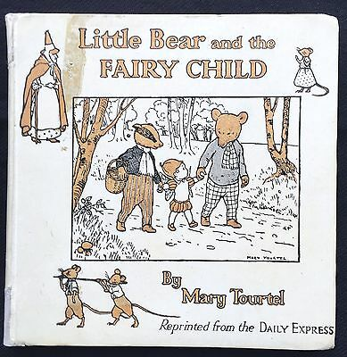 RUPERT LITTLE BEAR AND THE FAIRY CHILD by TOURTEL 1922 ORIGINAL VG