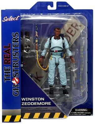 Ghostbusters Select Series 9 Winston Zeddemore Action Figure In Stock