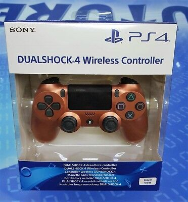 Sony Controller Dualshock 4 V2 Copper - Rame PS4 - NUOVO
