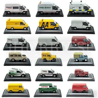 Oxford Diecast Vans 1:76 00 Scale Commercial Ford Transit Land Rover Morris Rail