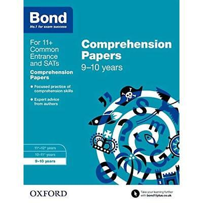 Bond 11+: English: Comprehension Papers: 9-10 years Michellejoy Hughes