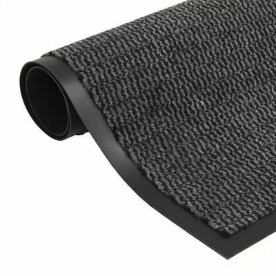 Rectangular Dust Control Mat 40x60 cm Anthracite Entryway Non Slip Floor Mat