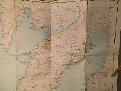 "Skye (South), Eigg, Muck, Rhum:sctland Hebredes:1St Postwar 1"" Os Survey 1954-57"