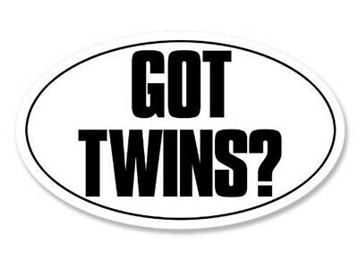 Got Twins Vinyl Decal Car Window Sticker You Pick The Size & Color