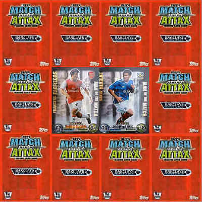 Match Attax 2007 2008 Man Of Match Limited Edition Single Football Cards Various