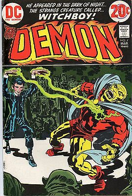The Demon # 7 Jack Kirby Art March 1973 First Print Very Rare First App Klarion