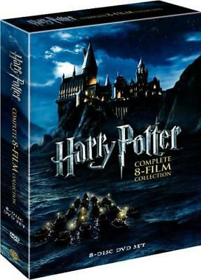 HARRY POTTER: THE COMPLETE 8-FILM COLLECTION (Region 1 DVD,US Import,sealed)