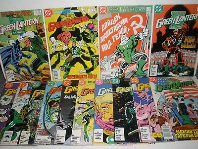 Green Lantern Corps # 206 207 208 209 210 211 212 213-219 High Grade Run 8.0-9.4