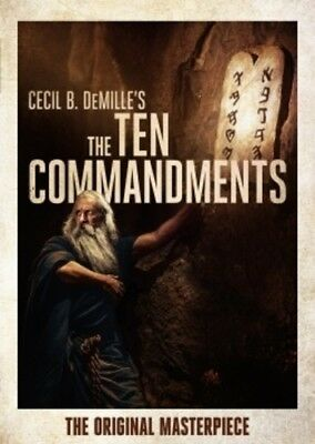Ten Commandments (1923) 032429288042 (DVD Used Very Good)