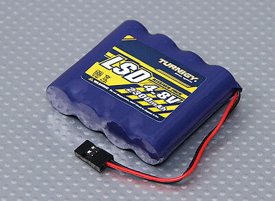 Receiver Battery 4.8v Nimh low self discharge RX Reciever flat pack 4 cell AA