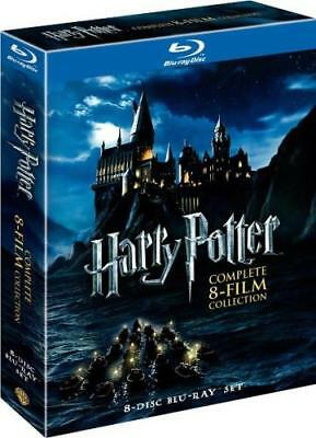 HARRY POTTER: THE COMPLETE 8-FILM COLLECTION (Region A BluRay,US Import,sealed)