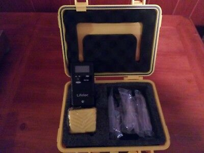 Lifeloc Technologies FC10 Portable Alcohol Fuel Cell Breathalyzer DOT approved