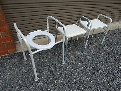 Shower Stools and over toilet seats