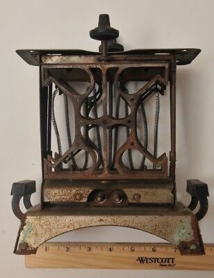 1920's FITZGERALD STAR TOASTER ANTIQUE ELECTRIC TOASTER