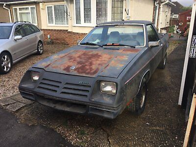 DODGE RAMPAGE american PICK UP TRUCK RAT TRUCK OR LOW RIDER CONVERSION UNUSUAL