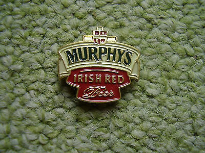 Pin Murphy´s Irish Red Beer Ale style beer brewed  Murphys Brewery Ireland Eire