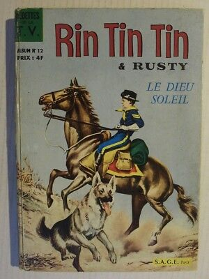 Album 12. RINTINTIN et Rusty. N° 48/49/50/51. Rin Tin Tin. éditions Sagédition