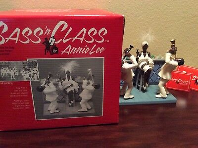 Annie Lee White Tie Only Figurine Scene 3 African american Art