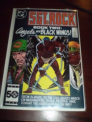 TUSKEGEE AIRMEN  Sgt Rock 406  AFRICAN AMERICAN PILOTS WWII civil rights book