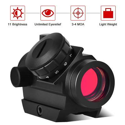 NEW Red Dot Scope with 3 MOA, Unlimited Eye Relief Sight for Hunting Outdoor