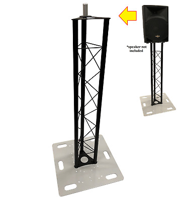 DJ Lighting Triangle Truss Light Weight 4.92 ft Speaker or Monitor Stand System