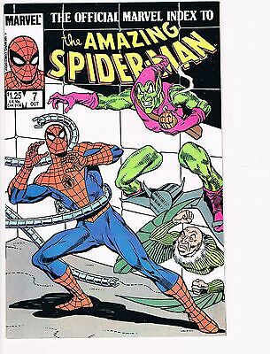 The Official Marvel Index To The Amazing Spider-Man   # 7  NM- 9.2